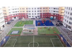 Спортзалы, корты, стадионы