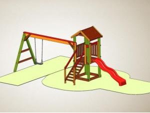 Детский игровой комплекс К 07-1