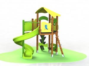 Детский игровой комплекс КД 09