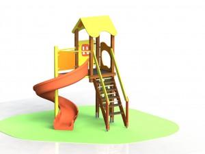 Детский игровой комплекс КД 10