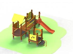Детский игровой комплекс КД 49