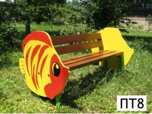 Детские скамейки ПТ