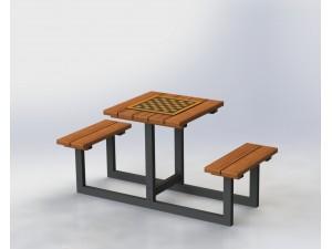 Шахматный стол на 2 человек
