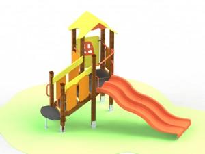 Детский игровой комплекс для детей с ограниченными двигательными возможностями КДИ 1