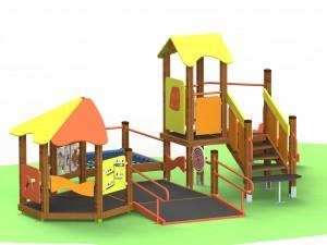 Детский игровой комплекс для детей с ограниченными двигательными возможностями КДИ 2