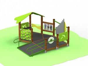 Детский игровой комплекс для детей с ограниченными двигательными возможностями КДИ 3