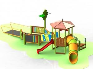 Детский игровой комплекс для детей с ограниченными двигательными возможностями КДИ 5