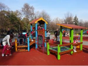 Детский игровой комплекс для детей с ограниченными двигательными возможностями КИ 2