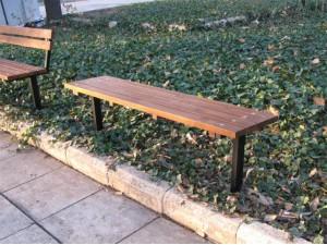 Скамейка садовая без спинки П 01-А