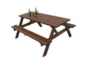 Стол со скамейками Пикник
